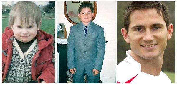 بازیکنان مشهور فوتبال در کودکی /تصاویر