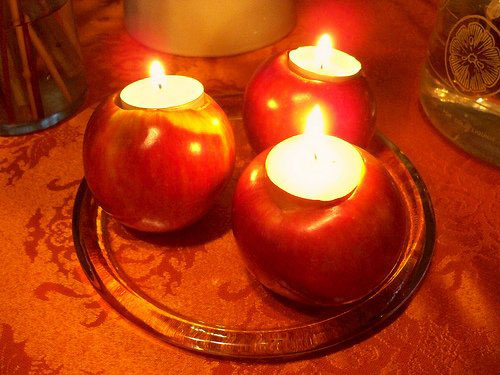 اموزش تزئین شمع برای عید نوروز 1393