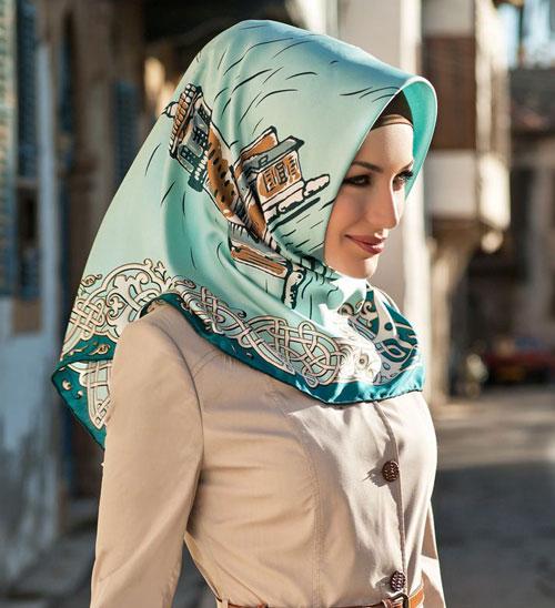 مدل های جدید مانتو و روسری زنانه