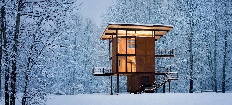 فسقلی ترین خانه های جهان /تصاویر
