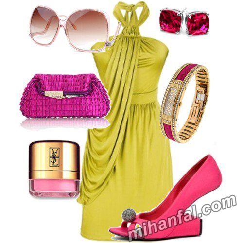 مدل های شیک و زیبای ست لباس ۲۰۱۴ (2)