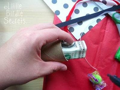 تزئین پول برای عیدی