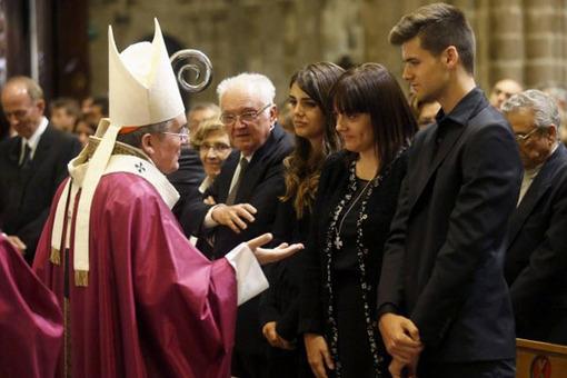 اشکهای مسی در کلیسای جامع بارسلون