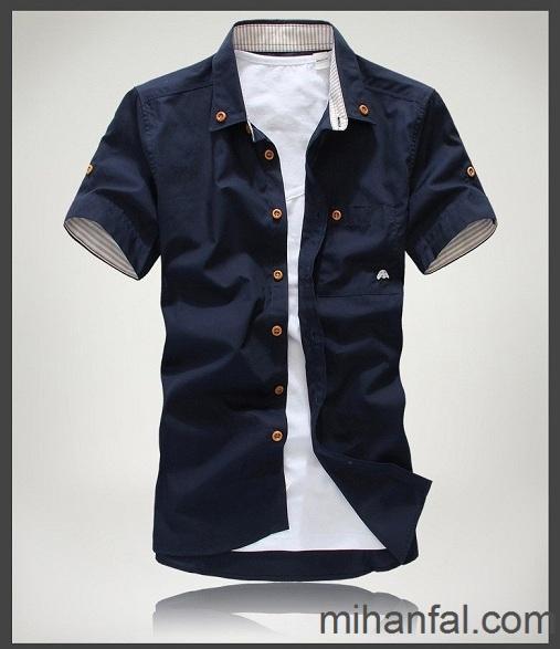 مدل های جدید و زیبای پیراهن مردانه 93