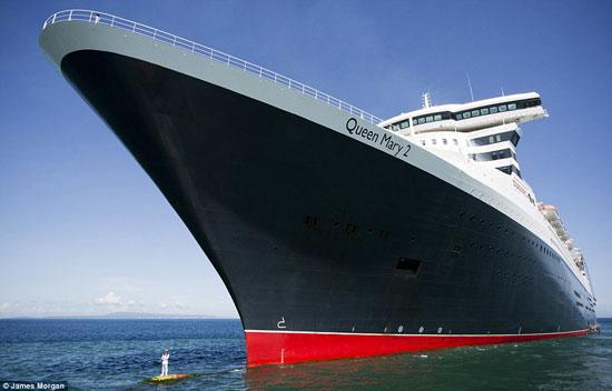 غول پیکرترین کشتی دنیا +تصاویر