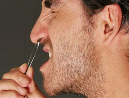 کندن موی این عضو از بدن خطرناک است!