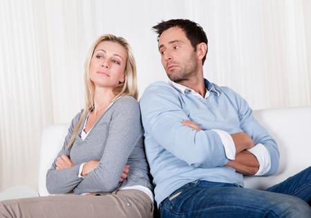 با قهر کردن همسر چه کنیم؟