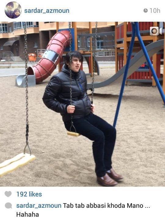 تفریح فوتبالیست ایرانی در خارج +عکس