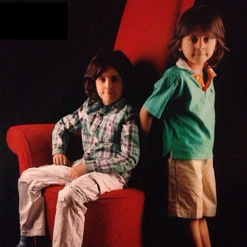 فرزندان علی کریمی در اینستاگرام /عکس