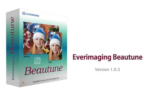 دانلود نرم افزار روتوش تصاویر دیجیتالی Everimaging Beautune v1.0.3