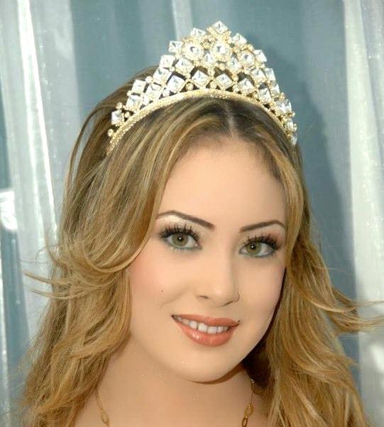 مدل آرایش عروس خلیجی 2014