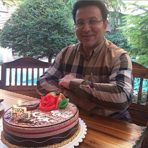 جشن تولد حسین هدایتی /عکس