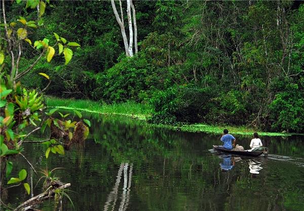 هتل ۵ ستاره بر روی آبهای آمازون + عکس