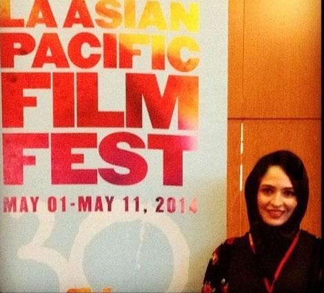 بازیگر زن ایرانی در آمریکا +عکس