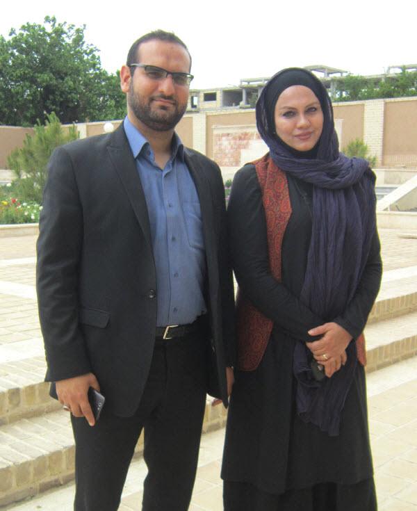 عکس جدید نرگس آبیار و همسرش محمد حسین قاسمی