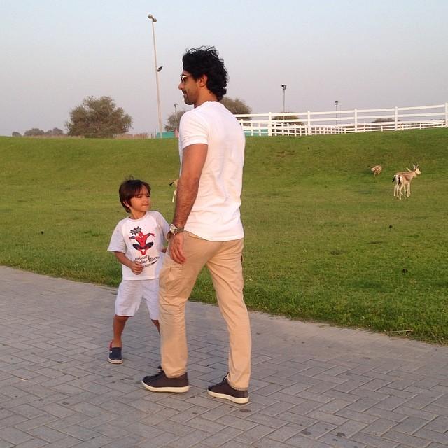 تصاویر جدید فرهاد مجیدی در دوبی