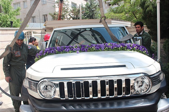 دردسری جالب برای عروس و داماد در تهران +عکس