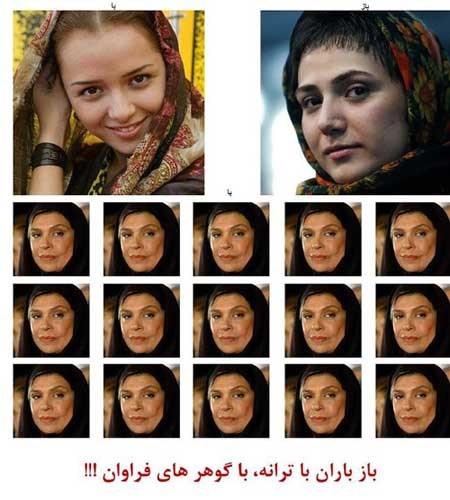 شوخی کامبیز دیرباز با بازیگران زن سینما +عکس
