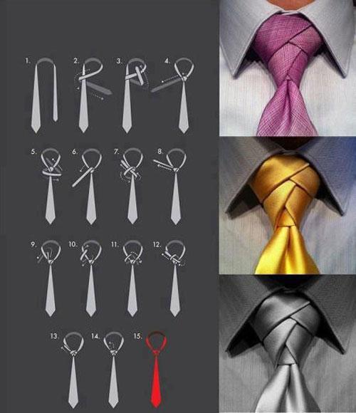 آموزش بستن کراوات مردانه