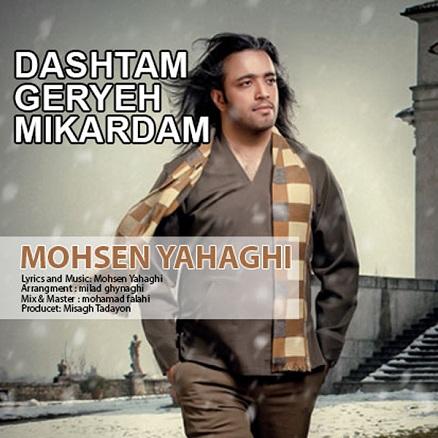 دانلود آهنگ جدید و فوق العاده زیبای محسن یاحقی به نام داشتم گریه می کردم