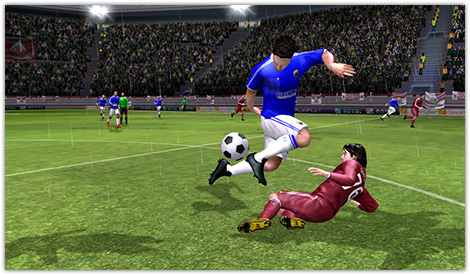 دانلود بازی فوتبال Dream League Soccer v1.57 برای اندروید