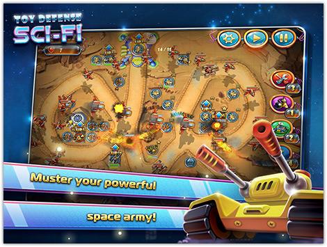 دانلود بازی Toy Defense 4: Sci Fi v1.0.2 برای اندروید