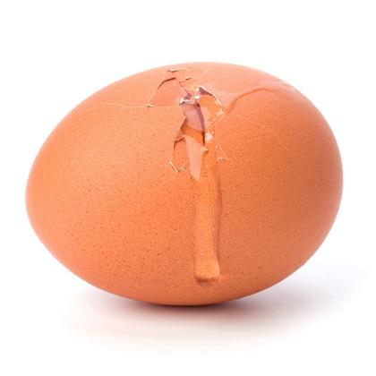 تخم مرغ شکسته را بخوریم یا نخوریم؟