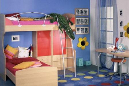 دکوراسیون اتاق بچه های دوقلو