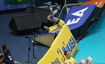 اتفاق جالب در والیبال ایران و برزیل +عکس