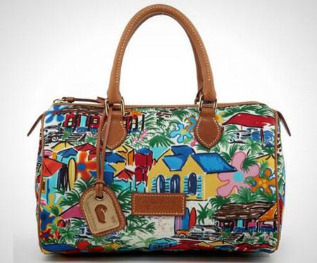 مدل جذاب از کیف دستی مجلسی نقاشی شده