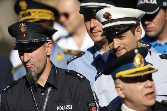 پلیس جام جهانی فوتبال /عکس