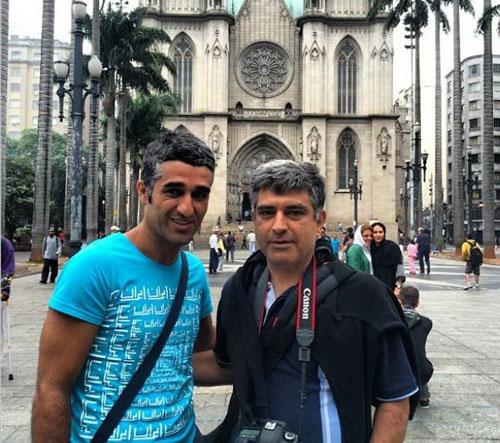 132947 838 تصاویر بازیگران ایرانی در برزیل