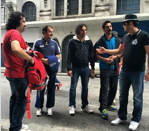 تصاویر بازیگران ایرانی در برزیل