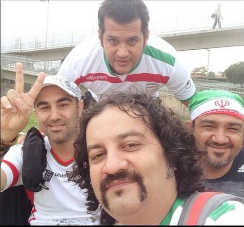 132950 714 تصاویر بازیگران ایرانی در برزیل