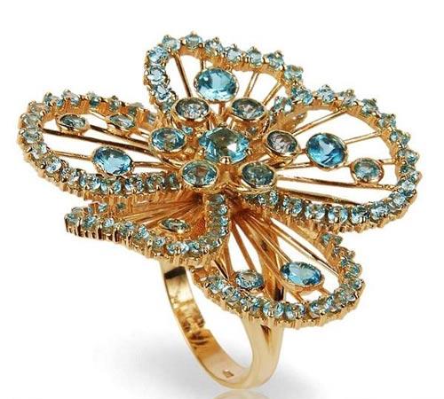 تصاویر زیبا از جواهرات کمپانی Valery Gold