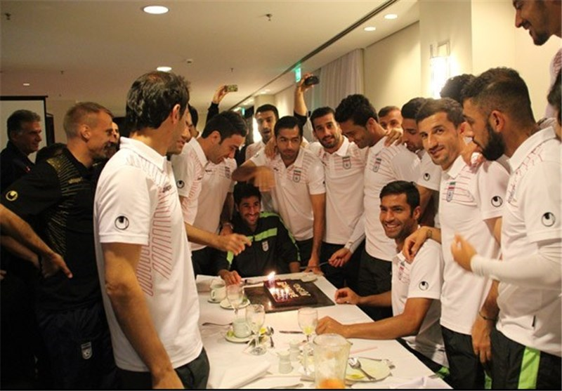 20 31 تصاویری از جشن تولد مسعود شجاعی در برزیل