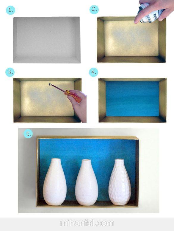 آموزش تصویری ساخت باکس دیوار