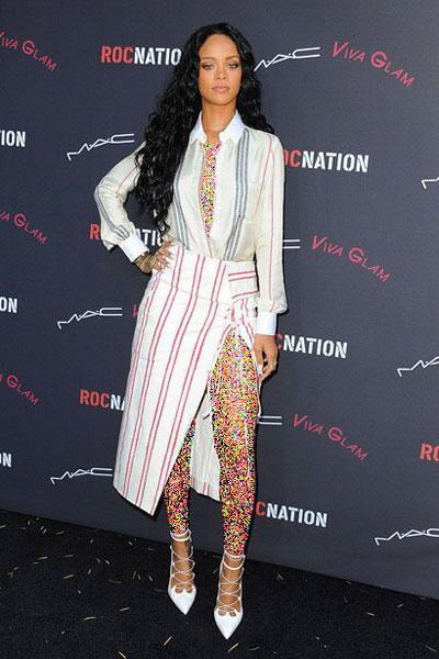 22 8 بهترین لباس های Rihanna در سال ۲۰۱۴