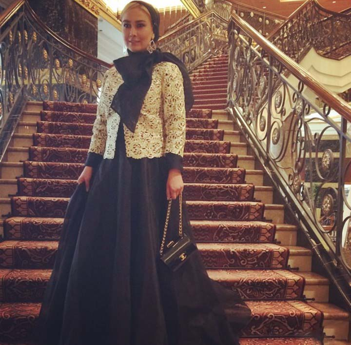 آناهیتا نعمتی در مسکو /تصاویر