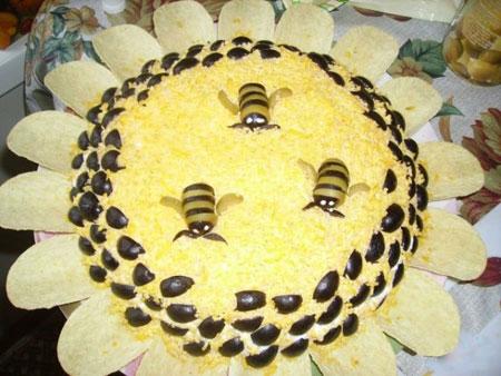 تزئین سالاد الویه - سری اول