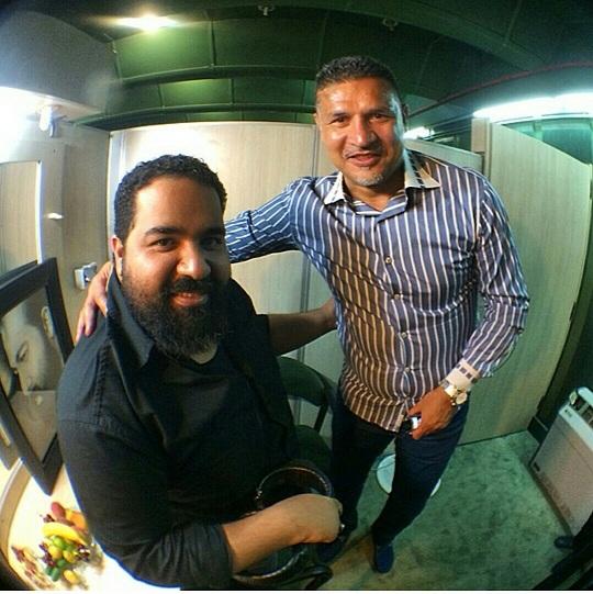 317 علی دایی در کنسرت رضا صادقی /عکس
