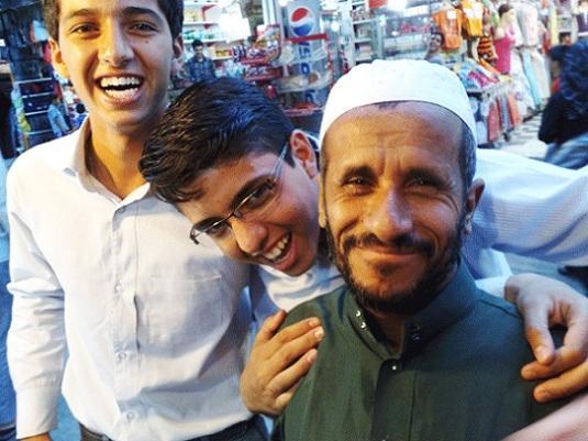 شباهت عجیب مرد پاکستانی به احمدی نژاد +عکس