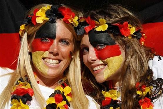 عکس چهره های دیدنی جام جهانی