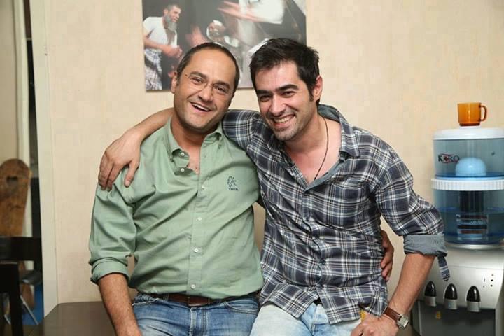 شهاب حسینی در کنار رامبد جوان /عکس