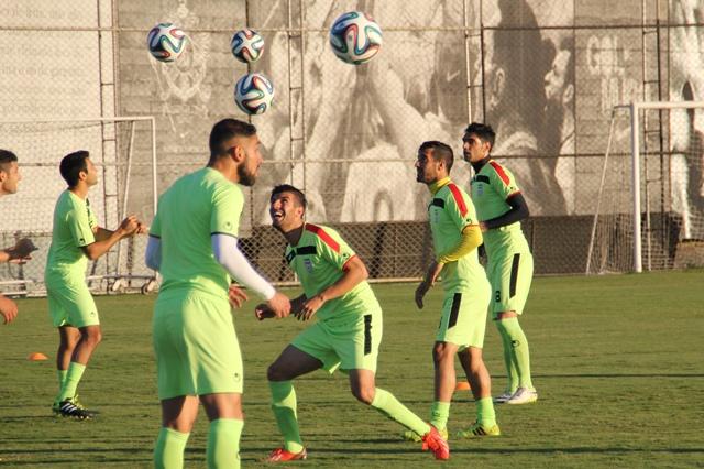 تصاویر تمرین تیم ملی در برزیل