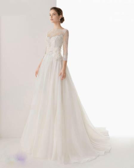 لباس عروس های جذاب و پوشیده 2014