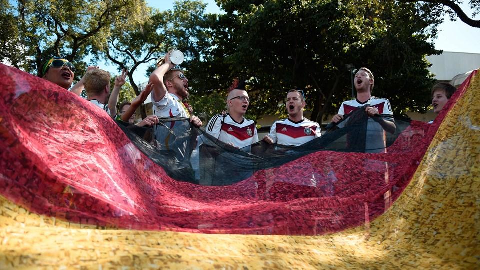 تصاویر بازی آلمان و آرژانتین