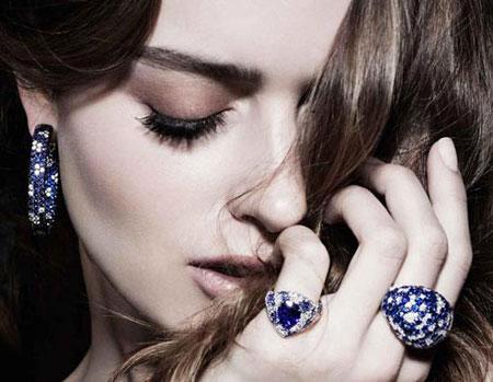 مدل جذاب از زیباترین جواهرات سال