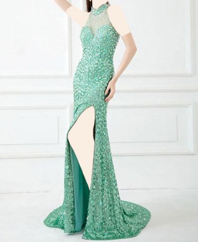 مدل روپوش چاک دار مدل لباس مجلسی زنانه چاک دار 2014