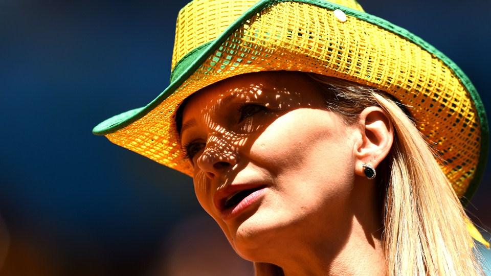 تصاویر زیبا از هواداران آرژانتین و بلژیک